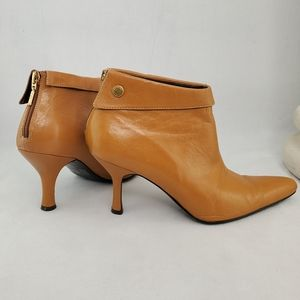 ALFANI Alexis Leather Ankle Boots Size 6.5
